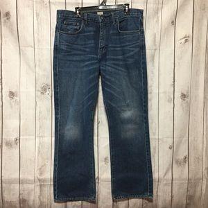 J.Crew Vintage Bootcut Blue Jeans Mens 36x32